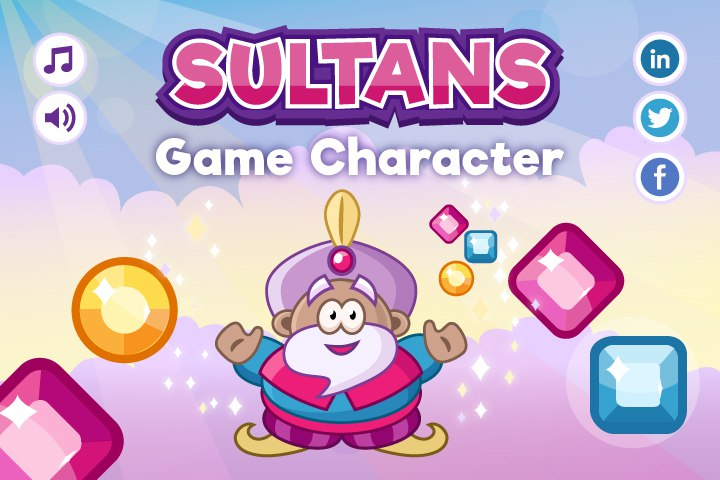 Sultan Character – Free Sprite