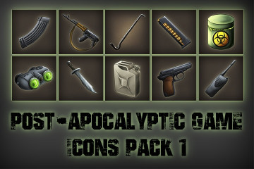 Post-apocalypse – Free Icons Game Pack 1