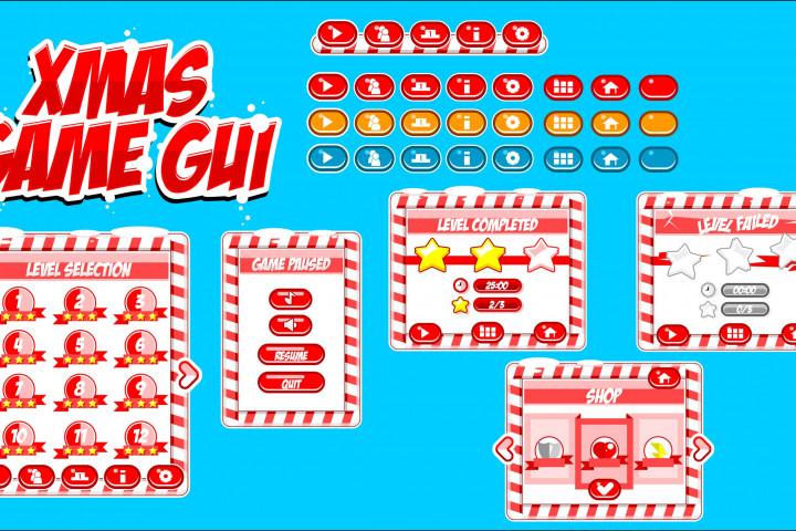 Xmas Game Free GUI