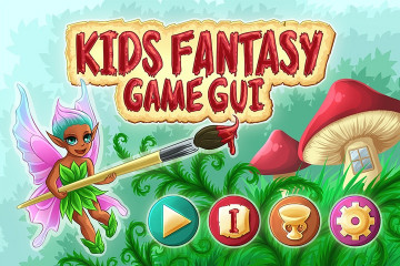 Kids Fantasy Game – Free GUI