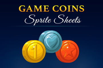 Free Game Coins Sprite Sheets