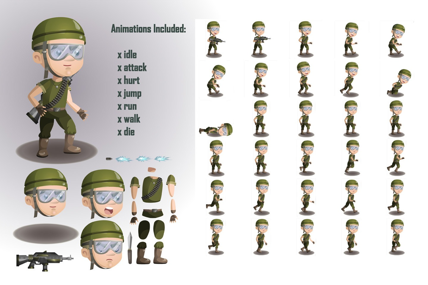how to make game sprite sheets