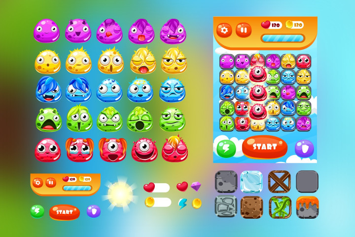 Monsters-Match-3-Game-Assets