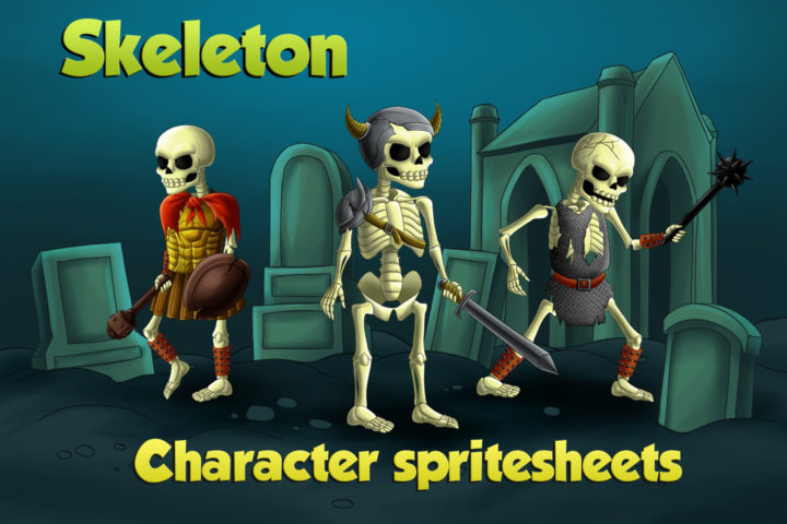 2D-Game-Skeleton-Character-Sprites