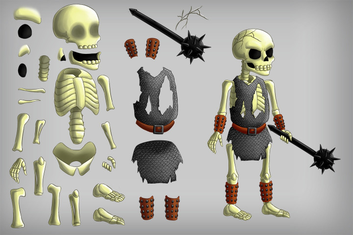 2D-Game-Skeleton-Character-Sprites