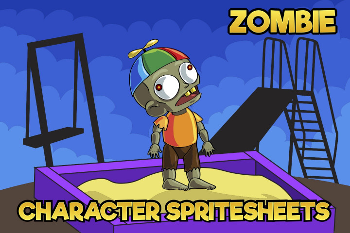 2D-Game-Zombie-Kids-Character-Sprite