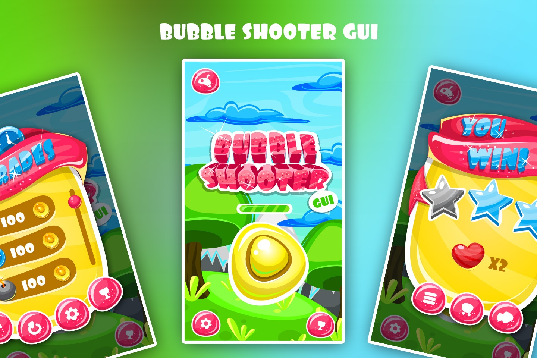 Bubble Shooter GUI - CraftPix.net