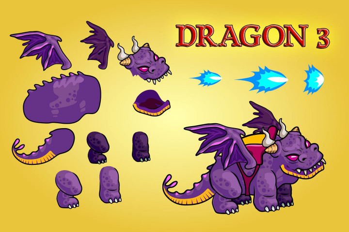 Fantasy-Dragons-Character-Sprite