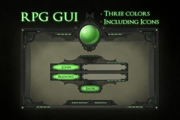RPG GUI