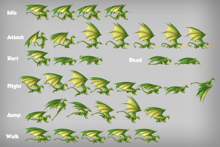 2D-Game-Dragon-Character-Sprites