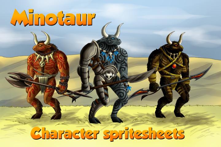 2D-Game-Minotaur-Character-Sprites