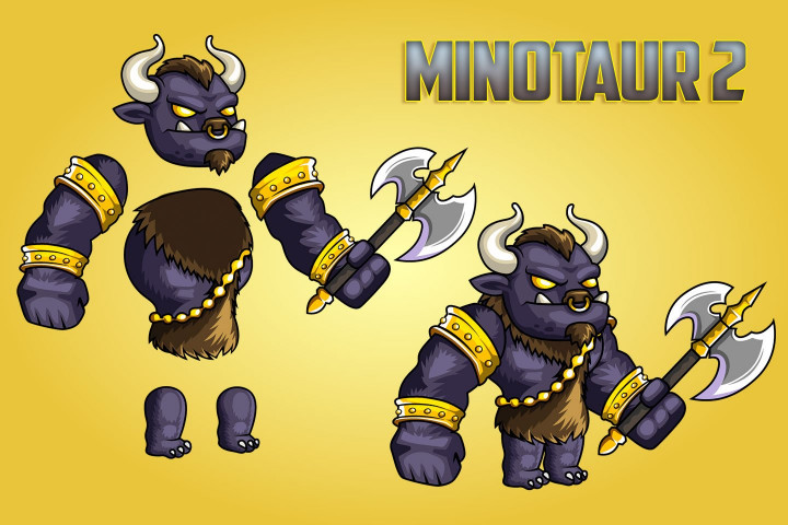 2D-Fantasy-Minotaurs-Sprite-Sheets