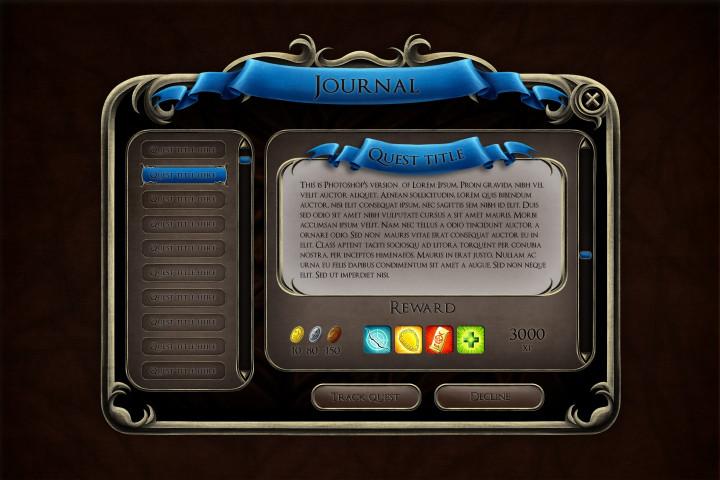 Fantasy_RPG_GUI