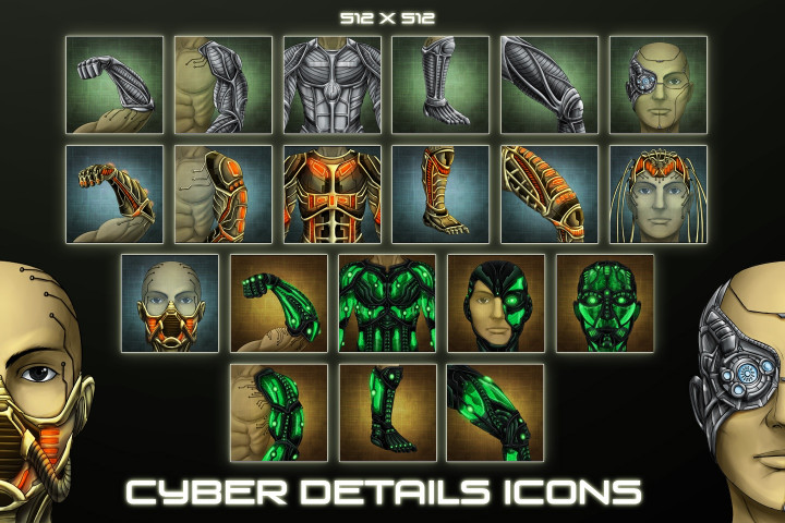 Aliens-Avatar-Game-Icons