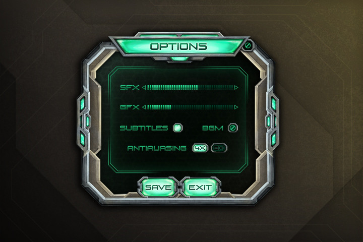 Sci-Fi-GUI