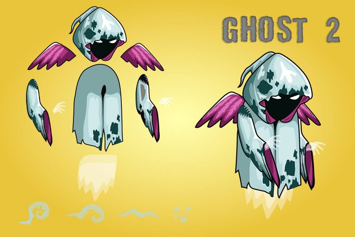2D-Fantasy-Ghosts-Sprite-Sheets