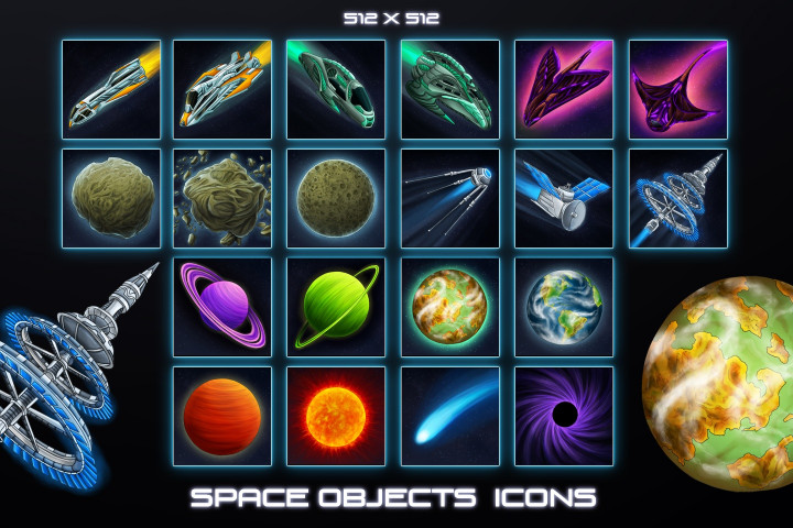 Free-Sci-Fi-Icons-Space-Objects
