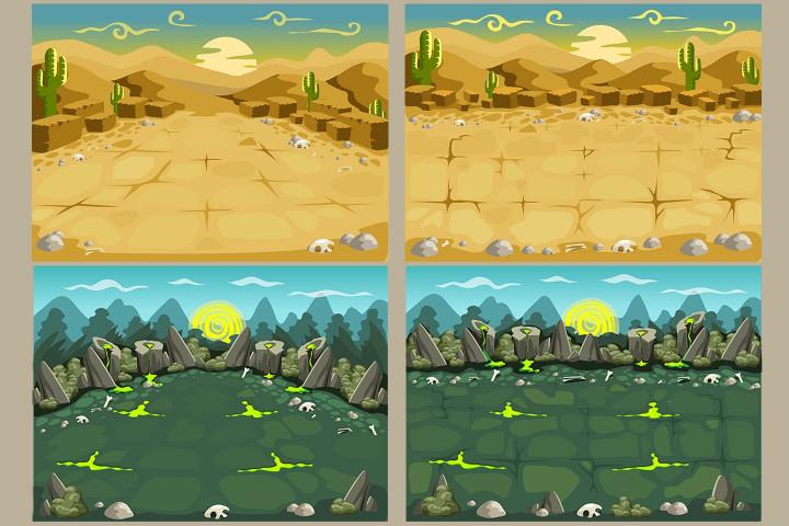 2D-Battle-Backgrounds