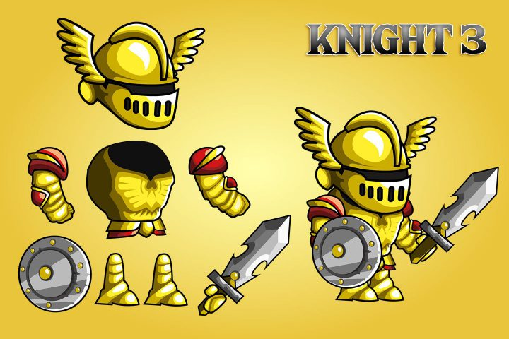 2D-Fantasy-Knight-Free-Sprite-Sheets