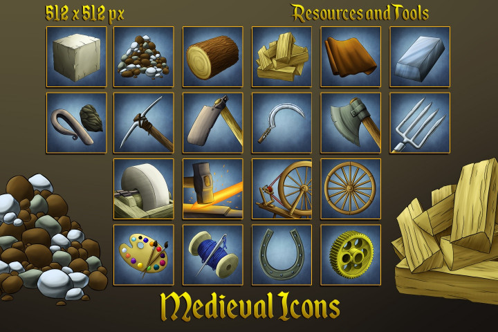 Medieval-Icons-Resources-and-Tools