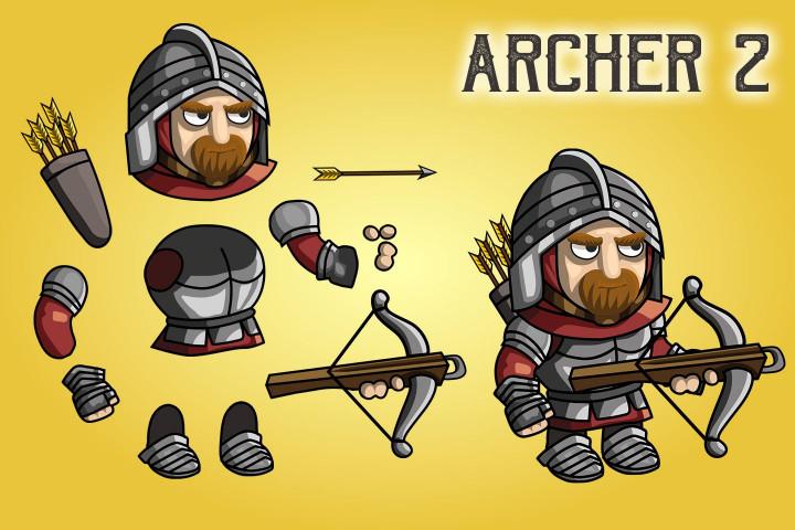 2D-Fantasy-Archer-Sprite-Sheets