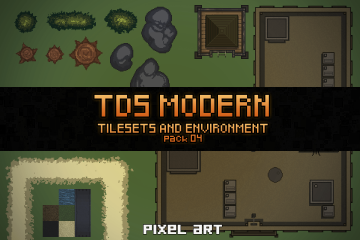 TDS Modern: Tilesets and Environment