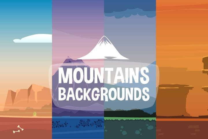 2D-Mountain-Backgrounds