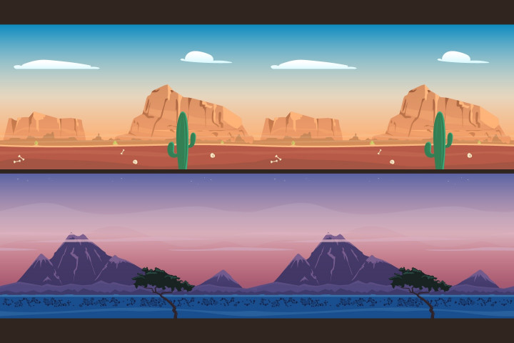 2D-Mountains-backgrounds