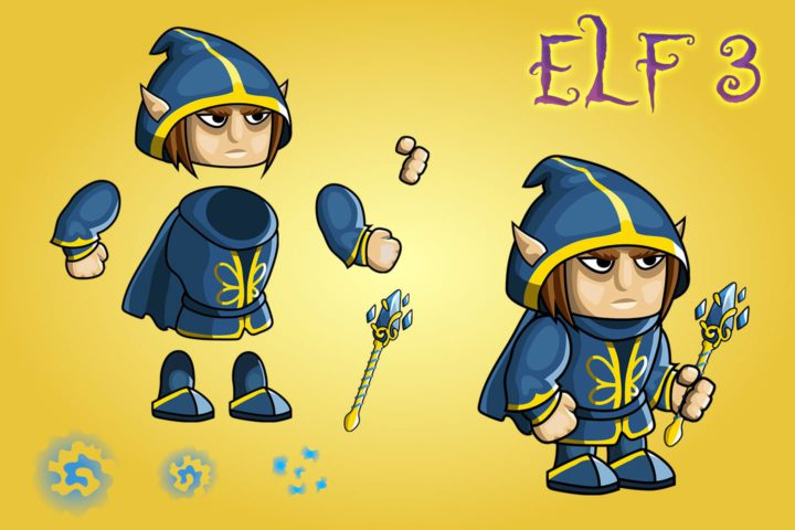2d-fantasy-elf-free-sprite-sheets
