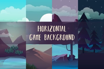 Free Horizontal 2D Game Backgrounds