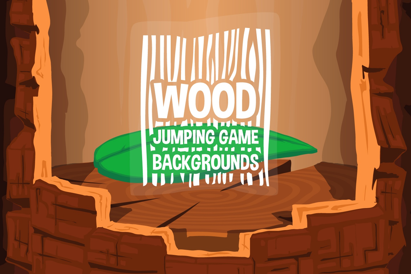 Jumping 2D Game Backgrounds