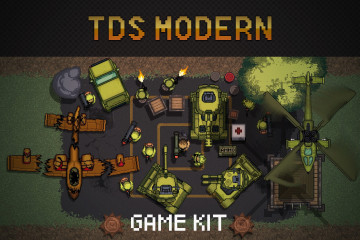 TDS Modern: Pixel Game Kit