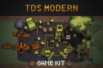 TDS Modern: Pixel Game Kit