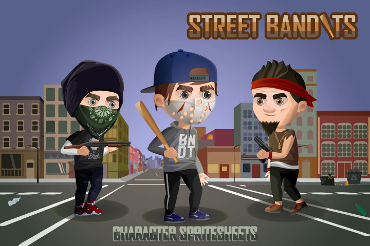 2d-game-street-bandits-character-sprites-sheets