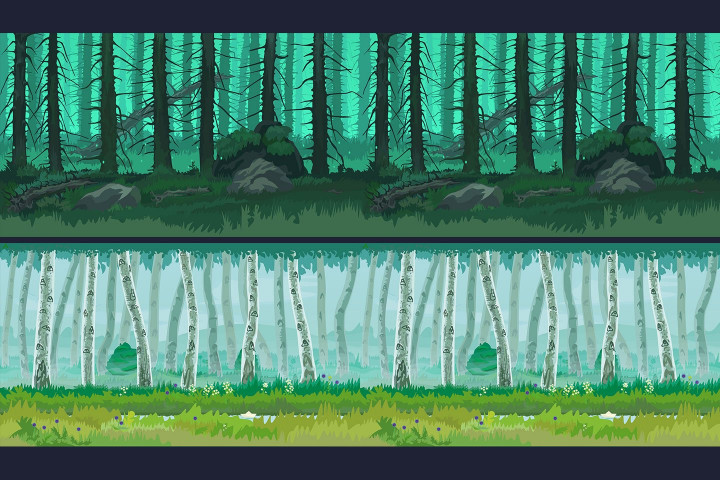 Forest-2D-Game-Backgrounds