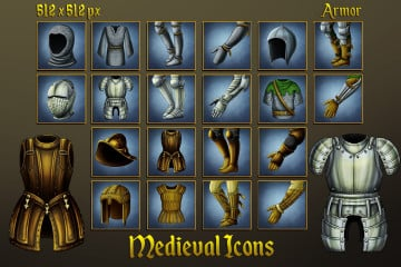 Medieval Icons: Armor
