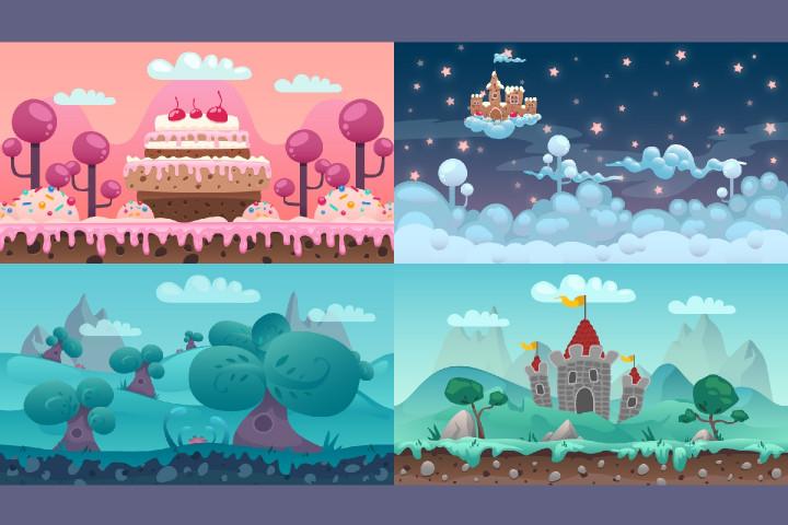cartoon-parallax-2d-backgrounds