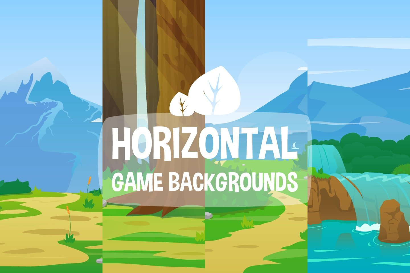 Nature Horizontal 2D Game Backgrounds