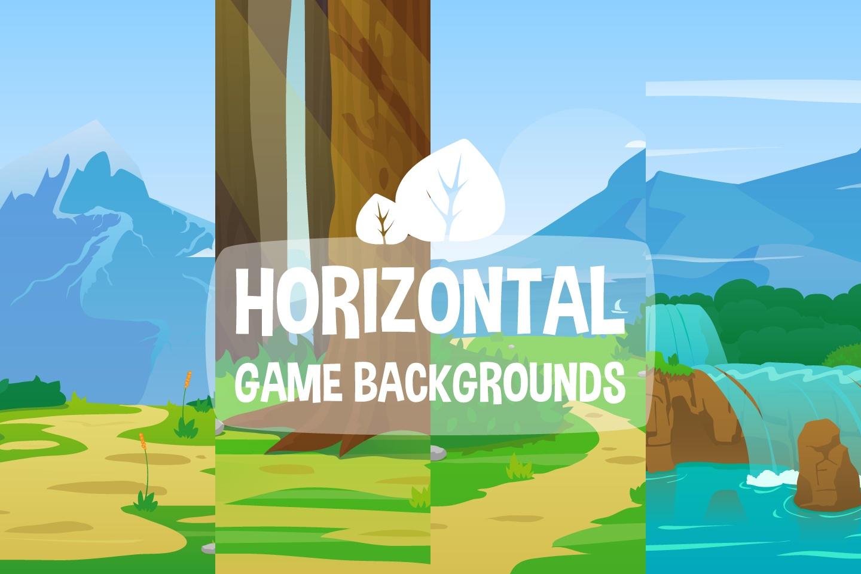 Nature Horizontal 2D Game Backgrounds