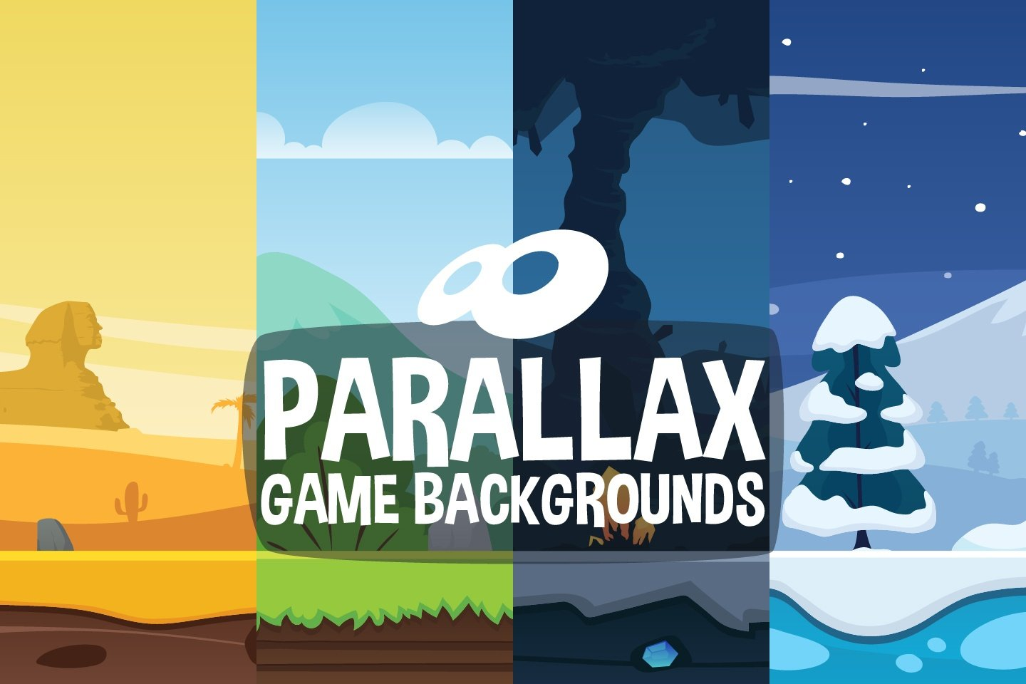Parallax 2D Game Backgrounds