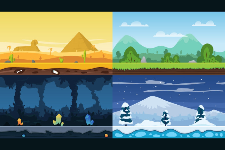Parallax-2D-Game-Backgrounds