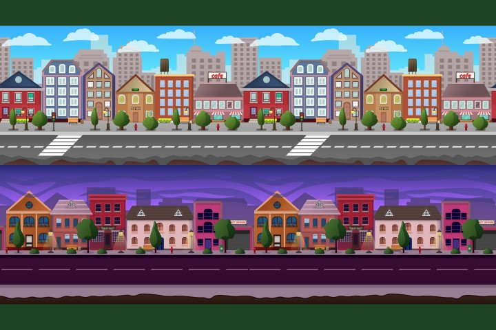 Parallax-Scrolling-City-Game-Backgrounds