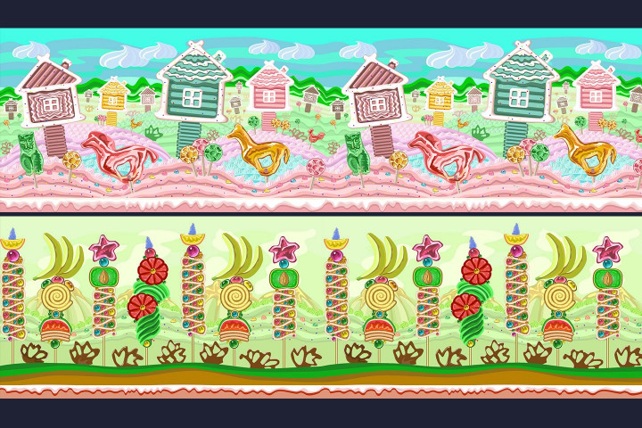 Sweet-2D-Game-Backgrounds