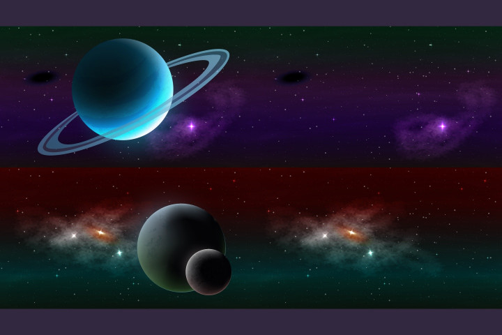 Parallax-Space-Backgrounds