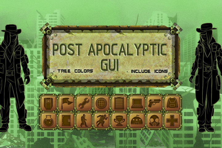 Post-Apocalyptic-GUI