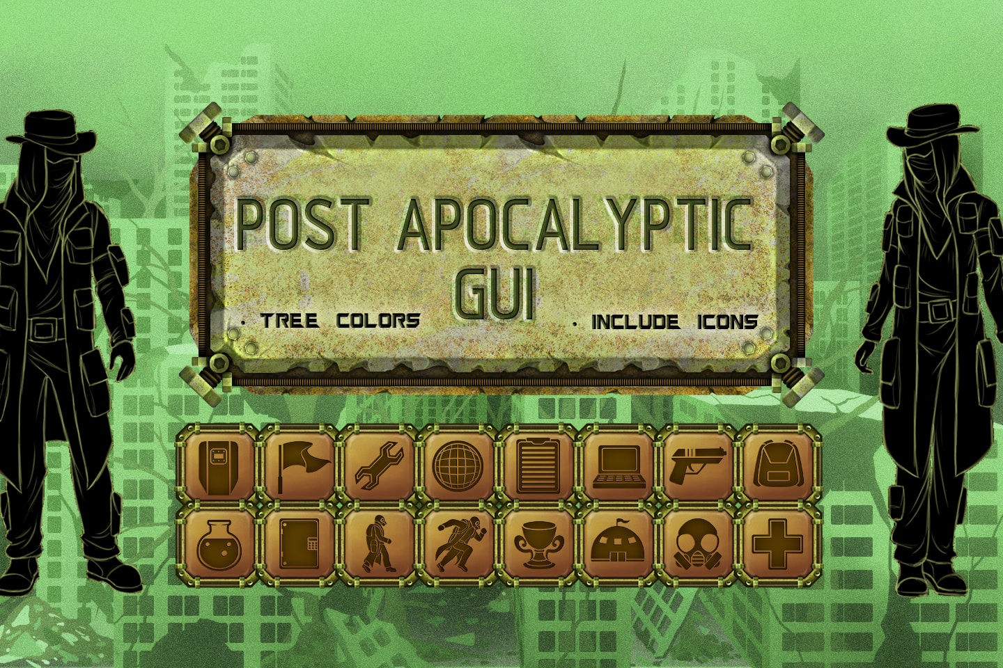 Post-Apocalyptic GUI