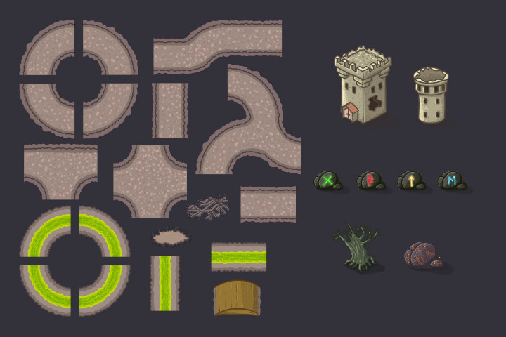 Tower-Defense-Game-Tilesets