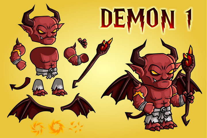 2D-Fantasy-Demon-Character-Sprites