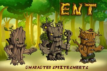 2D Fantasy Ent Character Sprites