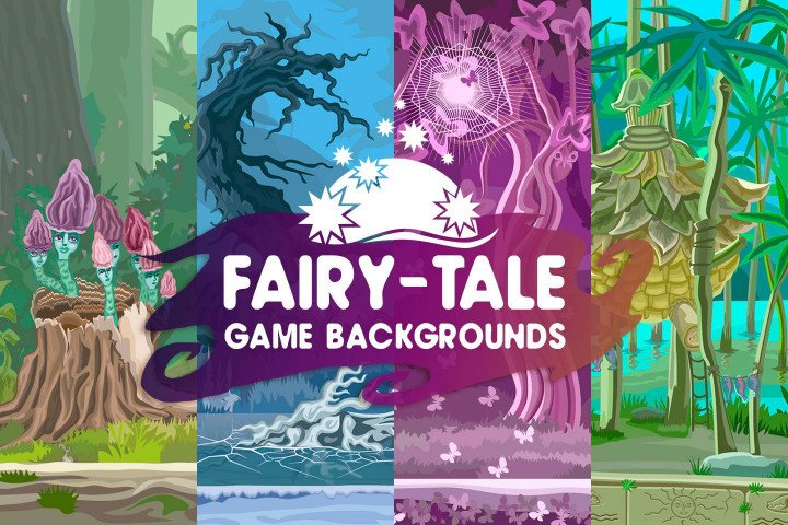 Fairy-Tale-Game-Backgrounds